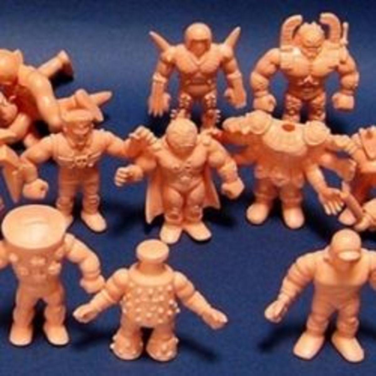 1980s M.U.S.C.L.E. Men Wrestler Toys