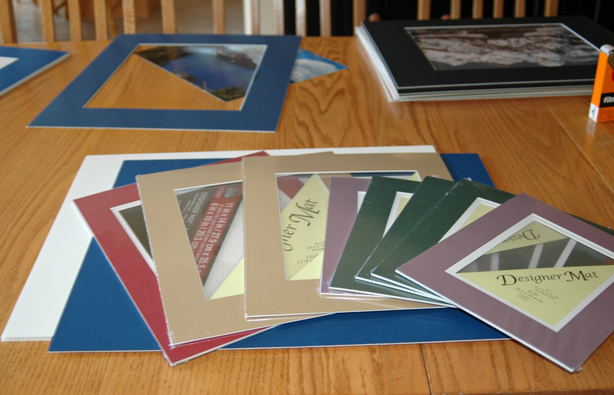 How To Pick Colored Matboard For Photos