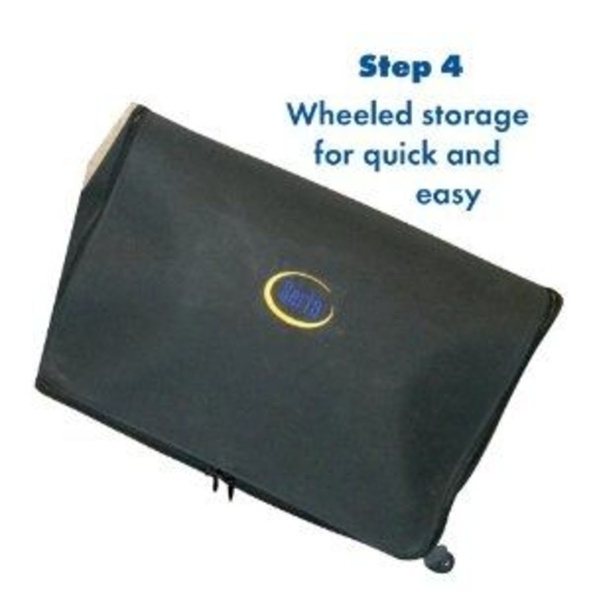 Serta EZ Bed Zipped Up for storage