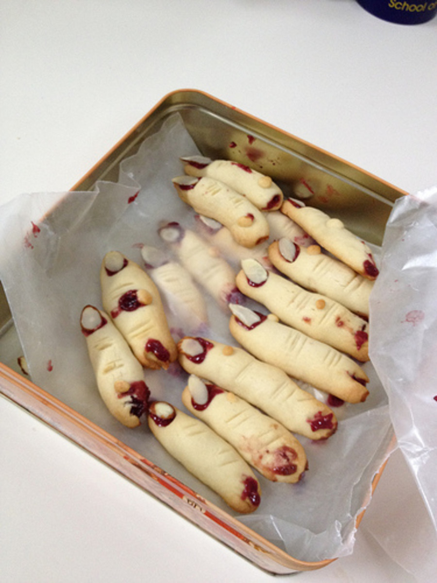 Dead Man's Finger cookies