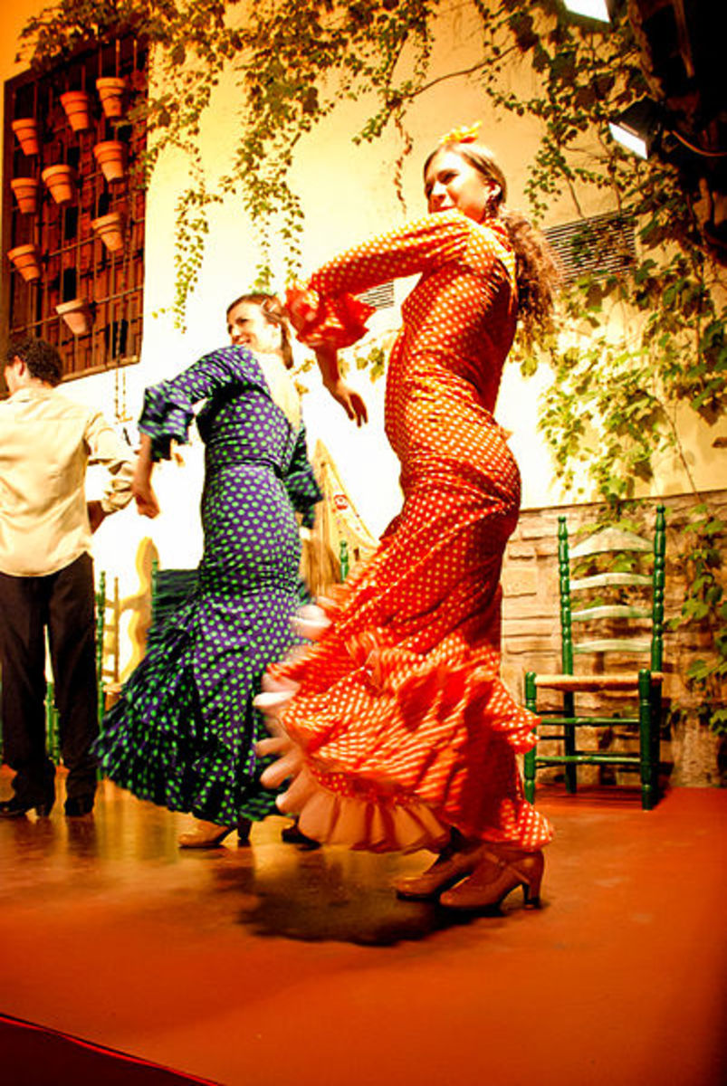 Flamenco in Cordoba, Spain.