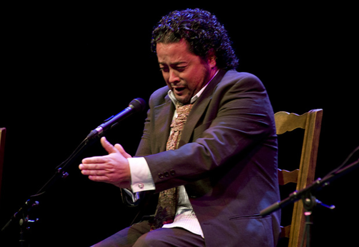 Rafael de Utrera,  one of Spain's leading Flamenco singer today.