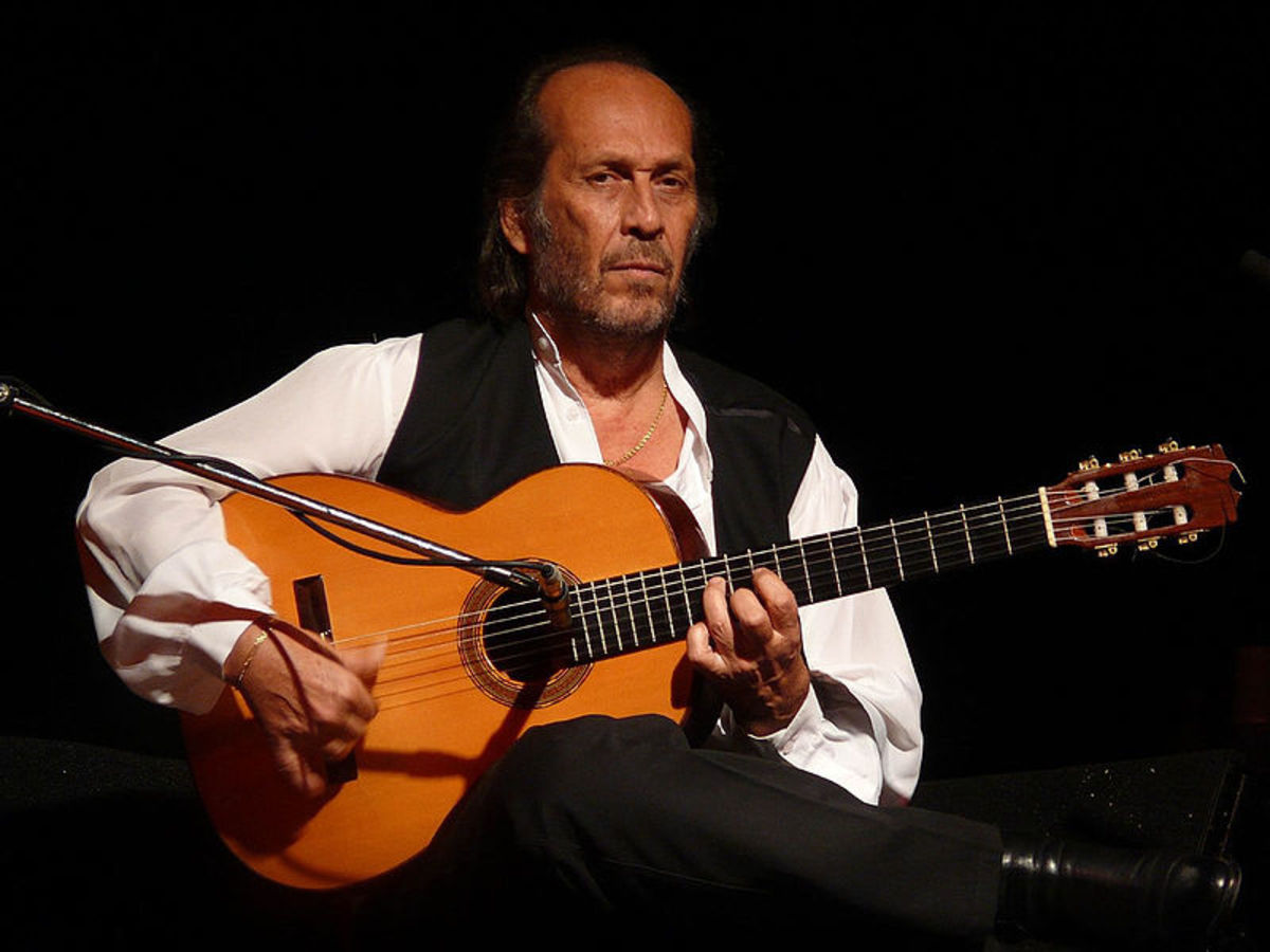 Flamenco guitar.
