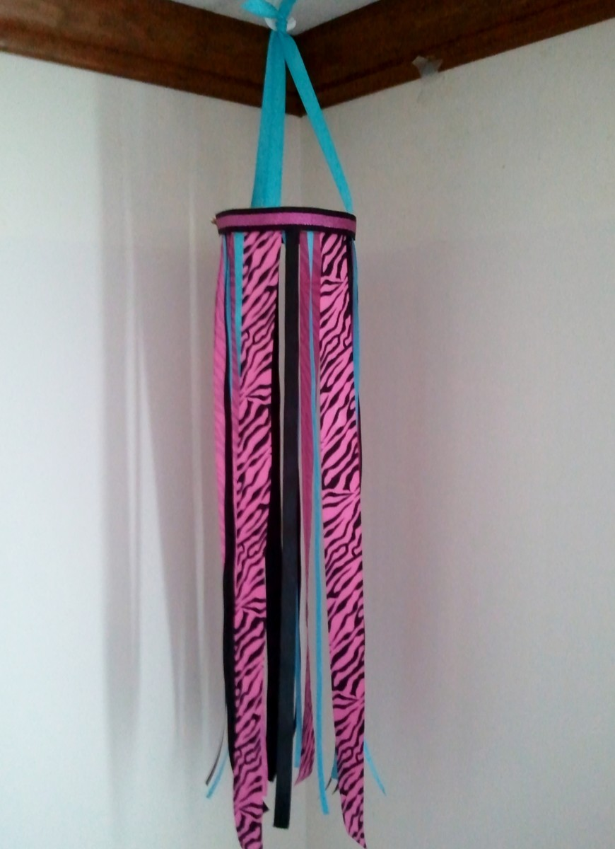 Completed Ribbon Windsock