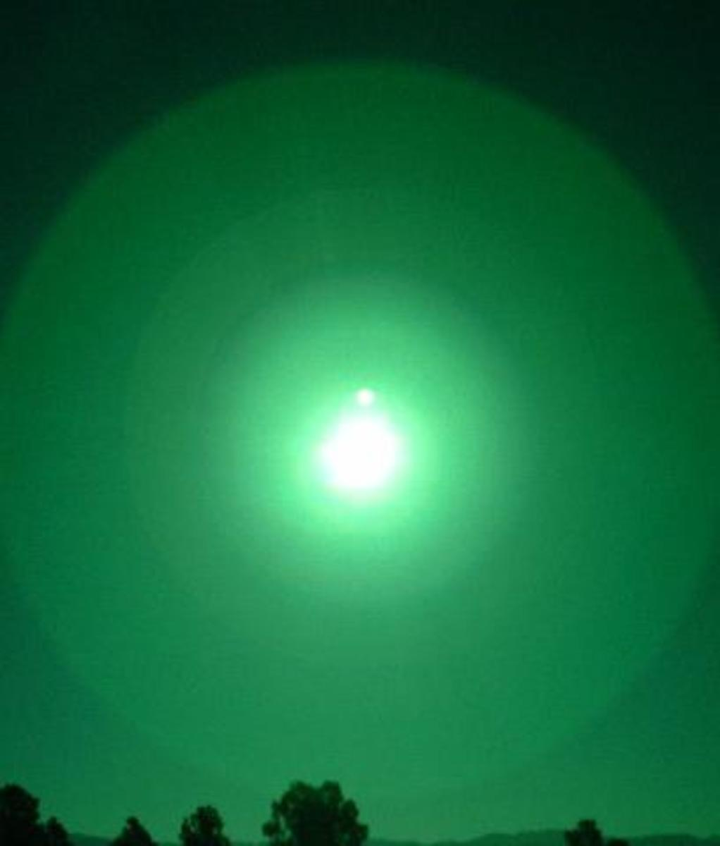 This image using a welders visor for a filter shows a good image of another planet near the Sun.