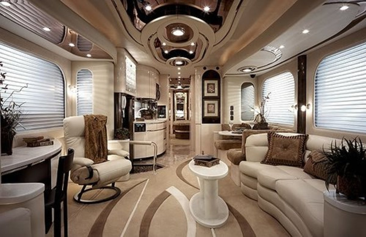 Interior of Luxury RV