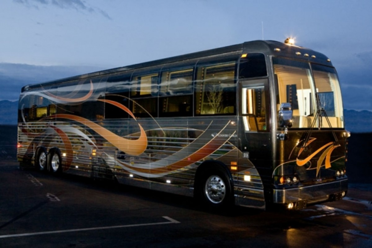 Third Most Expensive Motorhome