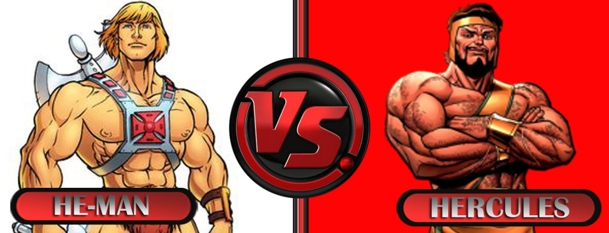 He-man vs Hercules