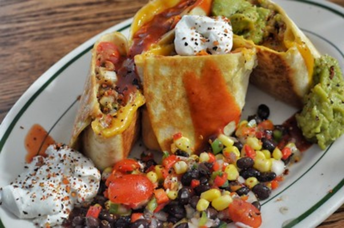 Corn salad makes an excellent side dish on a classic Tex-Mex platter.