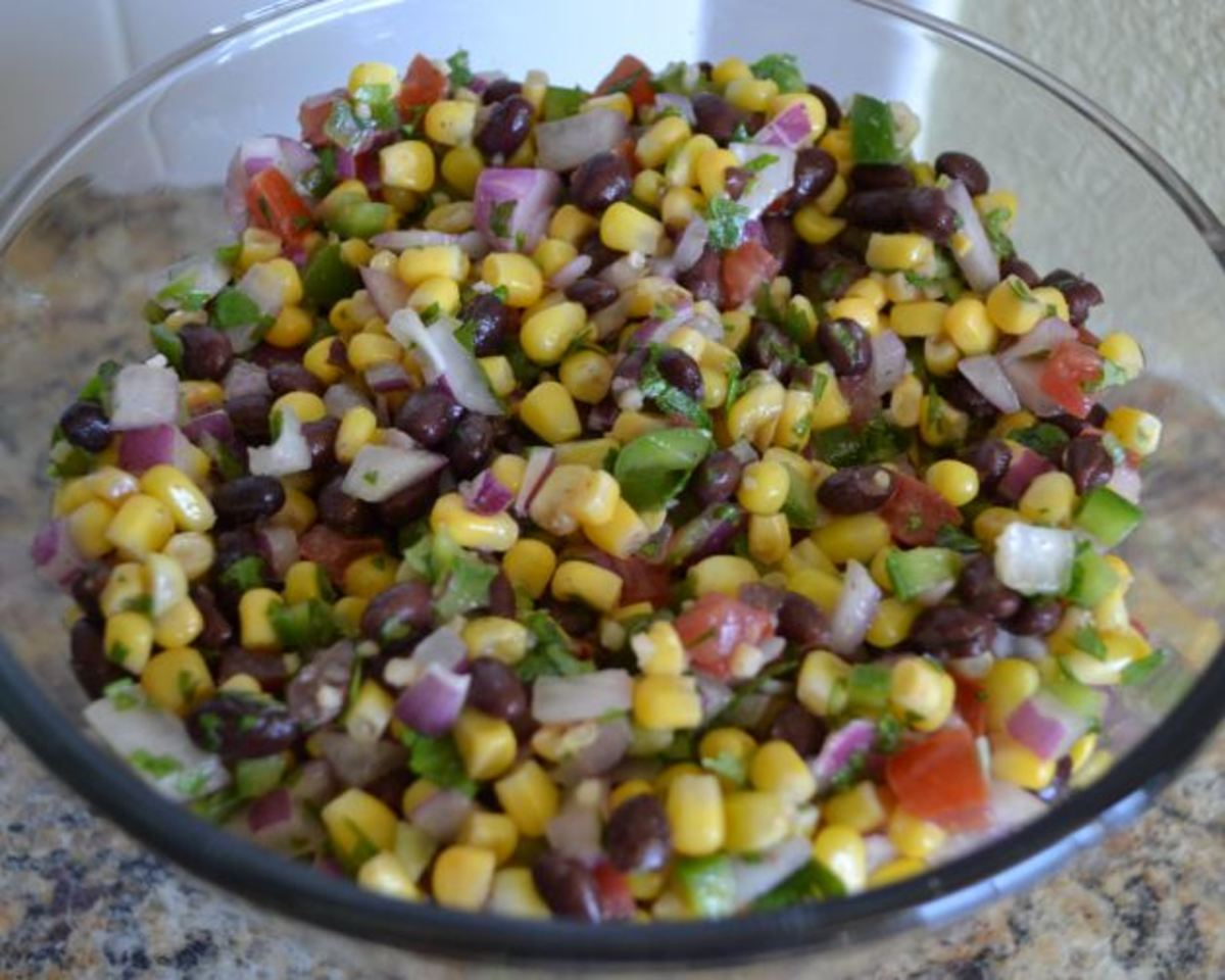 This make-ahead salad is delicious and mixes up quickly and easily.