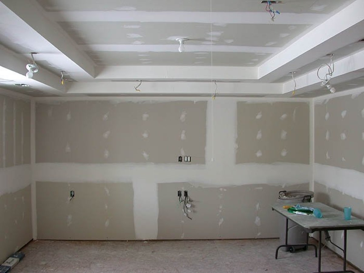 """How To Install Drywall"", Sheetrock Installation."