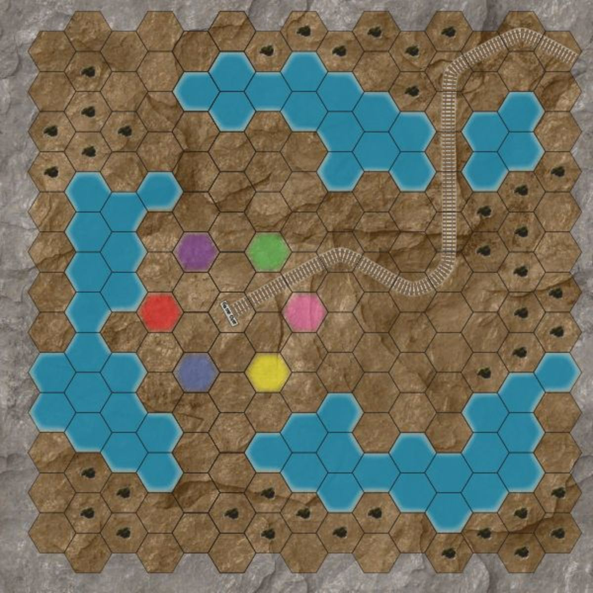 Generic gold-mining game template.