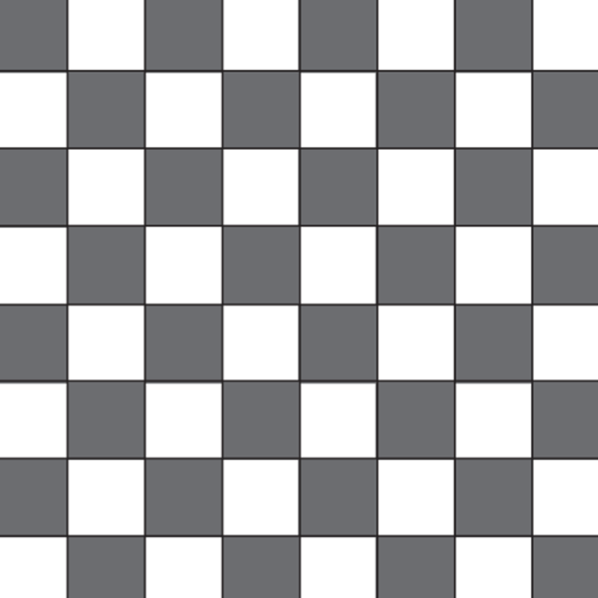 Checkers or chess board.