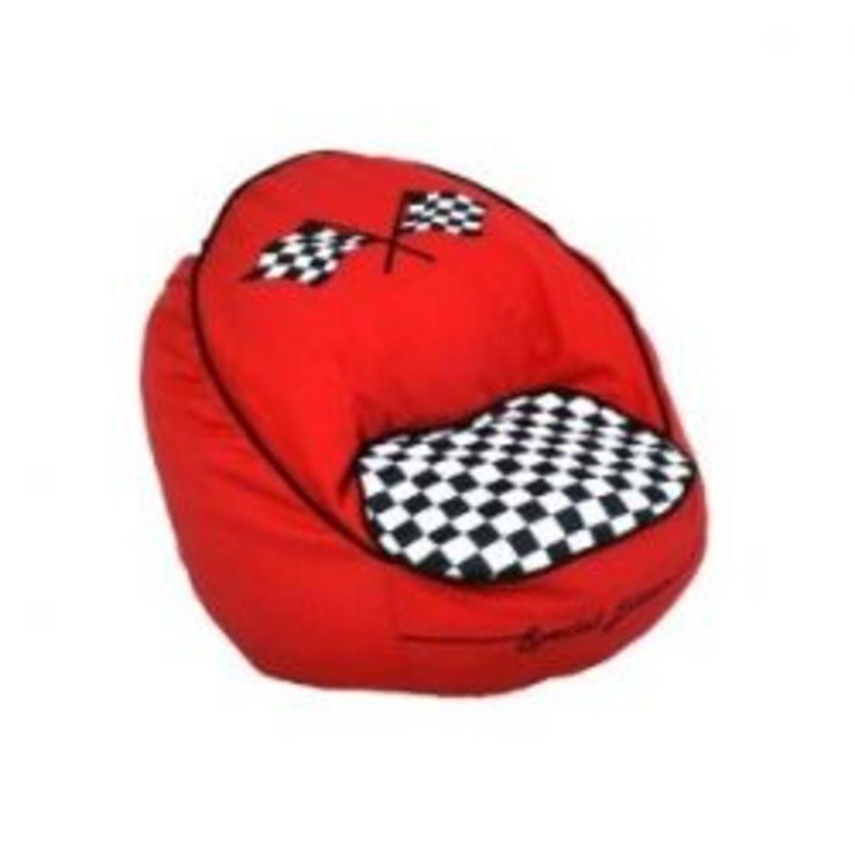 Newco Kids Race Car Bean Chair