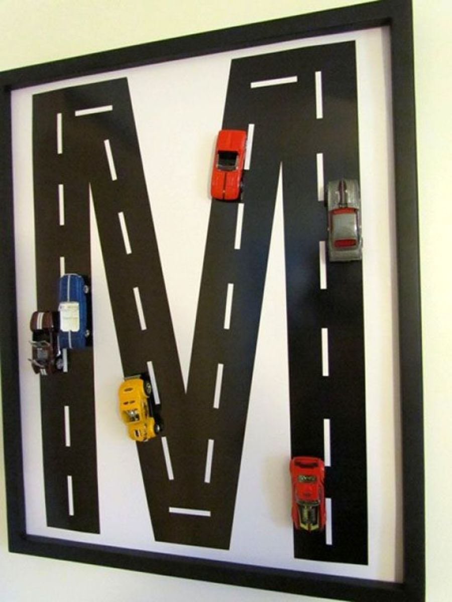 This simple letter with a few cars attached makes a big statement!