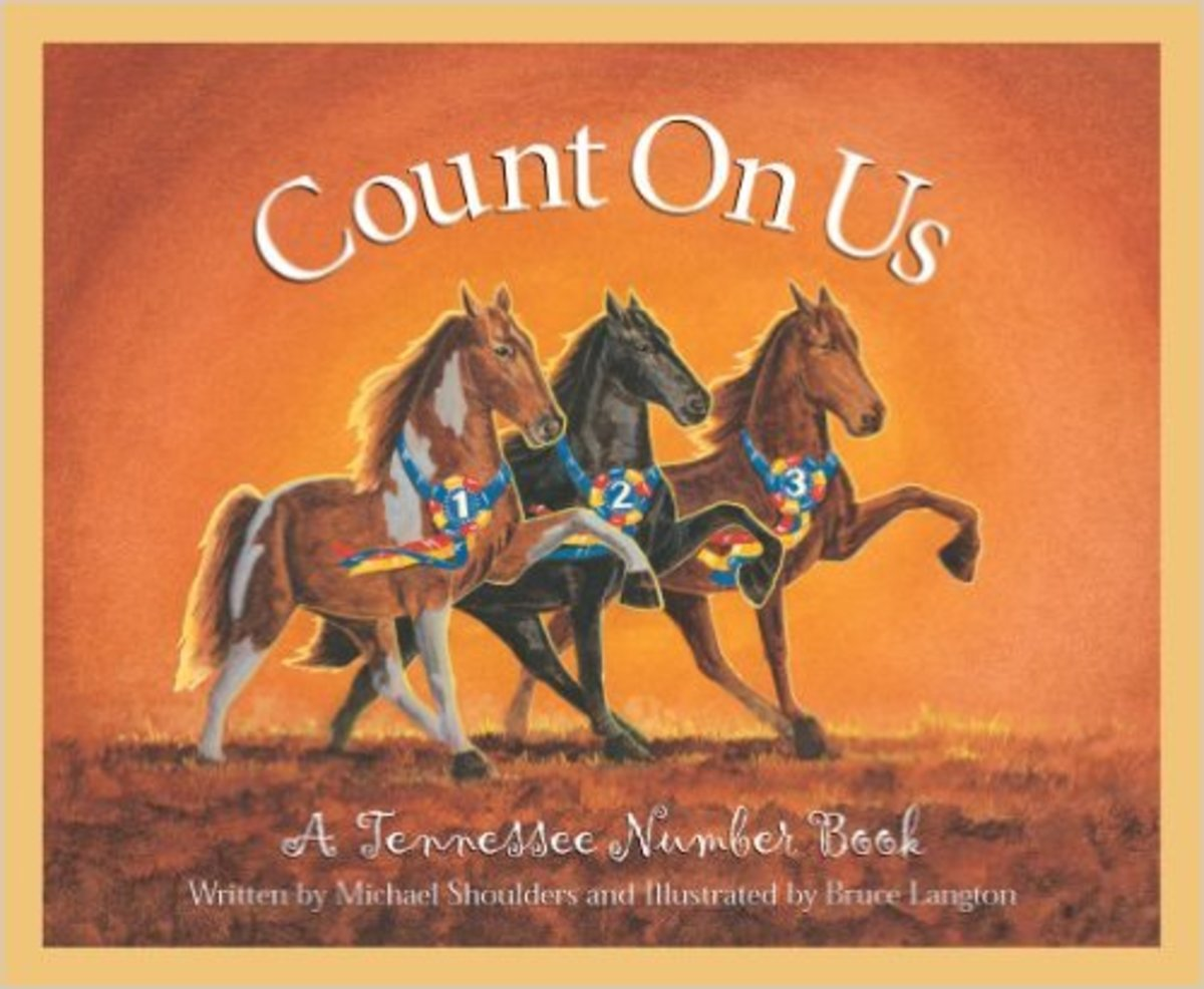 Count on Us: A Tennessee Number Book (America by the Numbers) by Michael Shoulders