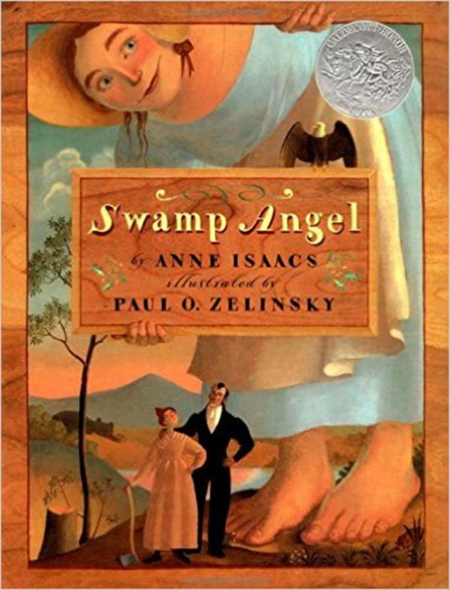Swamp Angel by Anne Isaacs - Book images are from amazon.com.