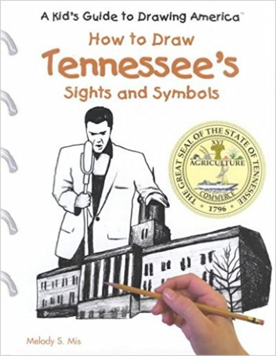 Tennessee's Sights and Symbols (Kid's Guide to Drawing America) by J. Katlin and Melody S. Mis.