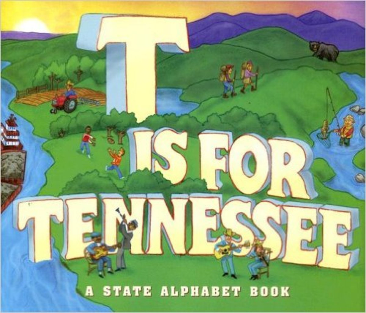 T Is for Tennessee (State Alphabet Books) by E. J. Sullivan