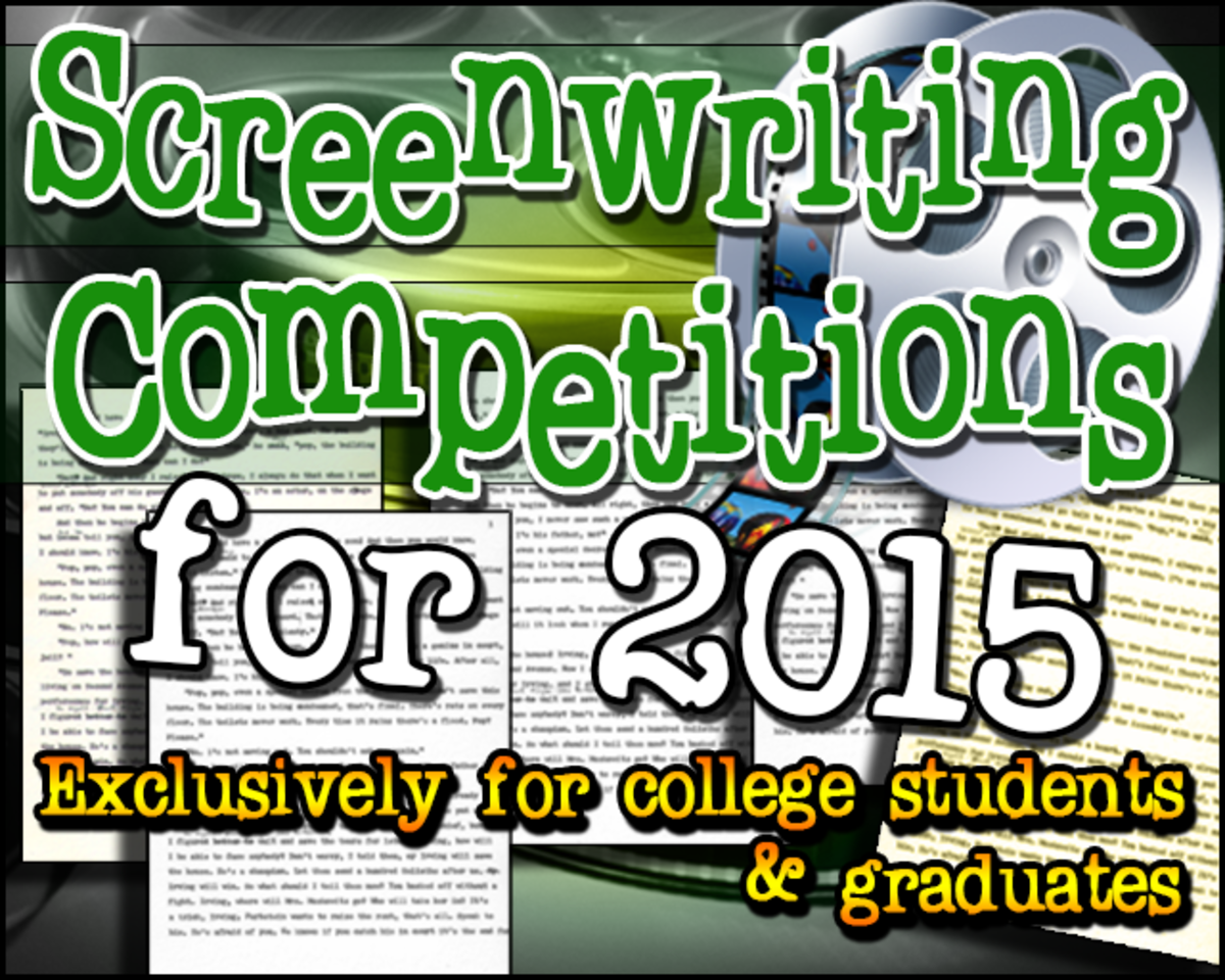 Screenwriting Competitions for College Students and Graduates (updated for 2015)