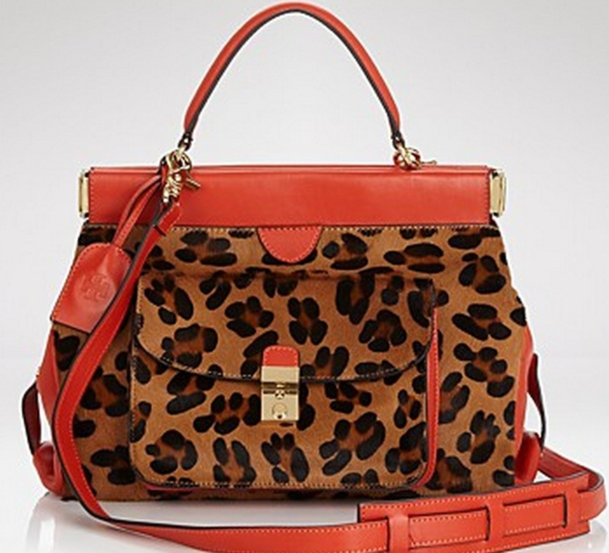 Tory Burch Satchel, Priscilla Small $695. Where to Find Cheap Designer Handbags.
