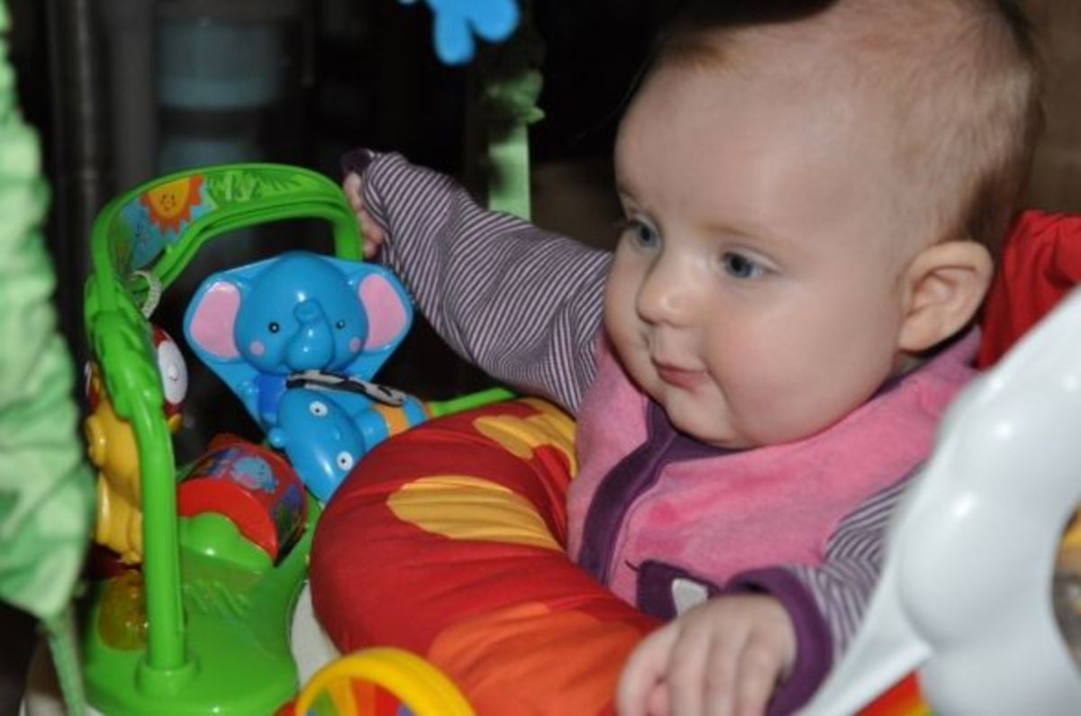 Gotta love the jumperoo!