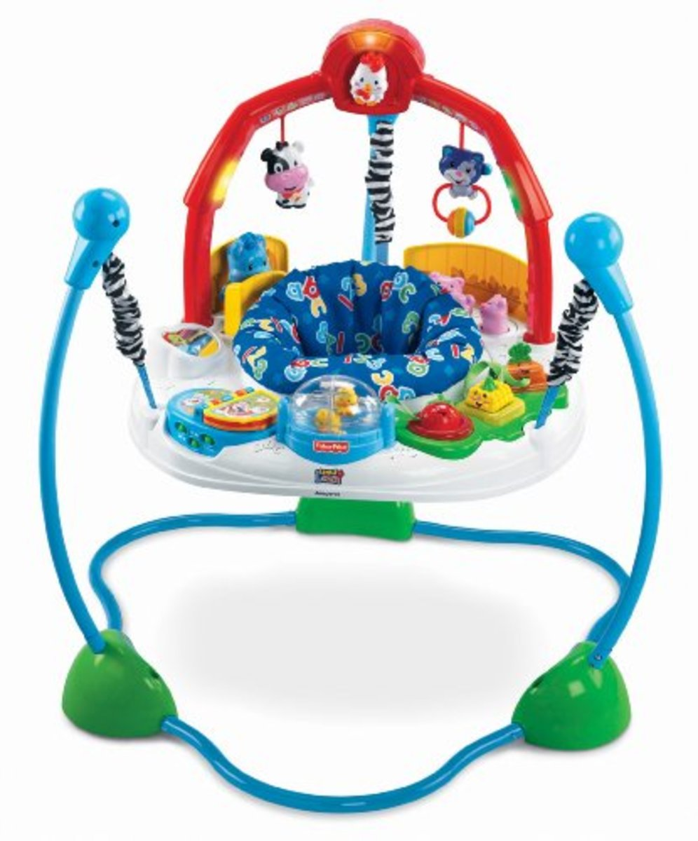 Fisher price jumperoo laugh and learn best