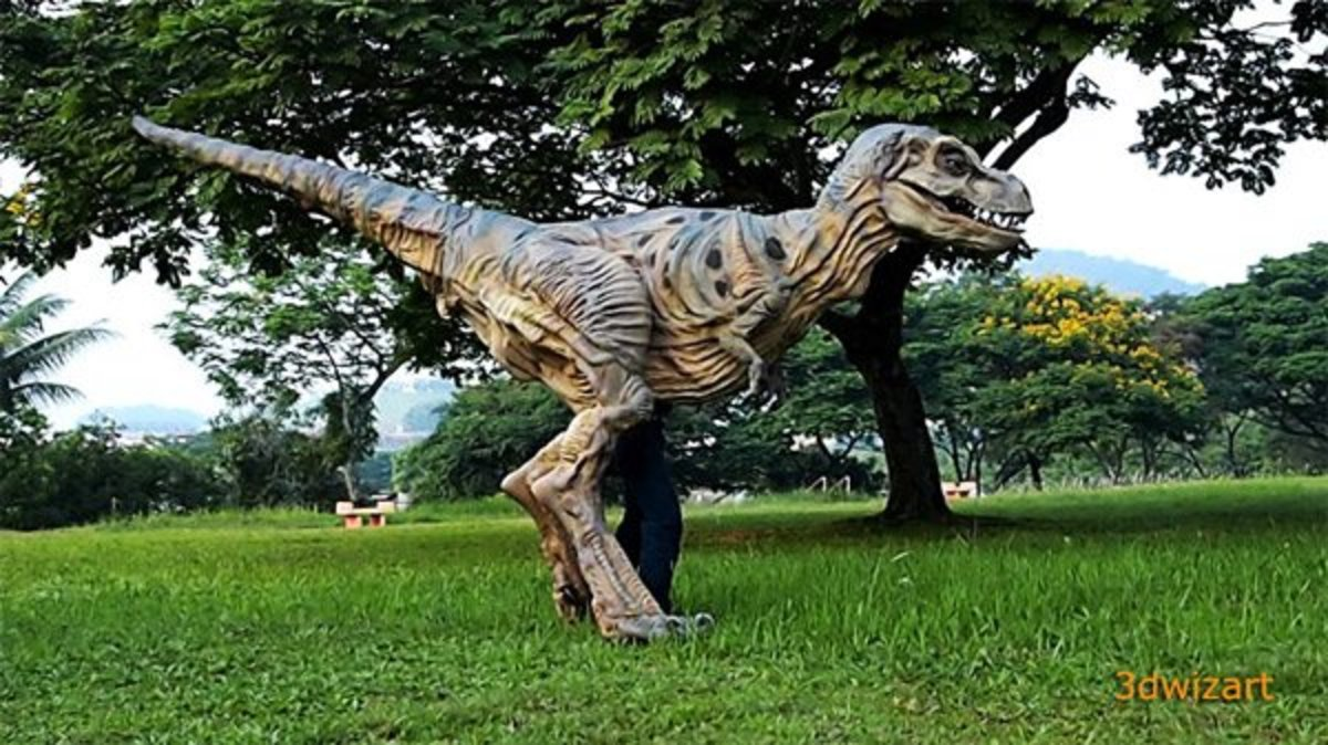 Jurassic Park, move out of the way! Now we can all have our very own personal dinosaurs! ...If we are millionaires.