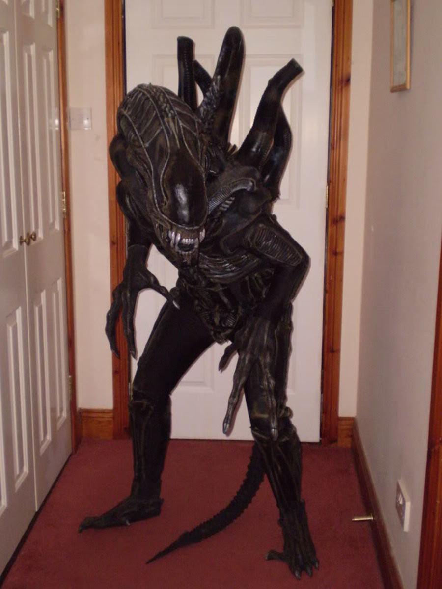 Xenomorph Dog Costume Crazy Creature Costume...