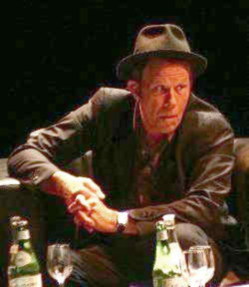 Tom Waits during an interview in Buenos Aires, Argentina, April 2007