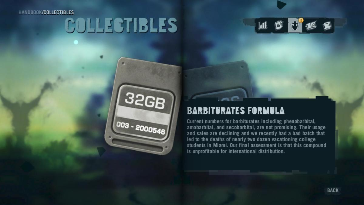 Far Cry 3 Collectibles - Memory to Spare achievement: Memory Card 1.