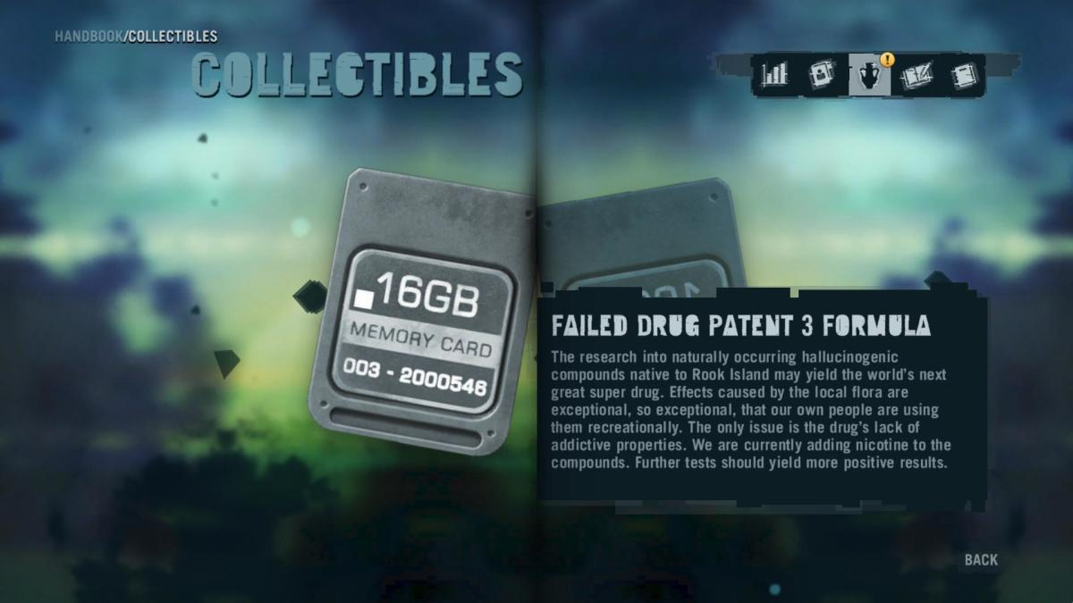 Far Cry 3 Collectibles - Memory to Spare achievement: Memory Card 8.