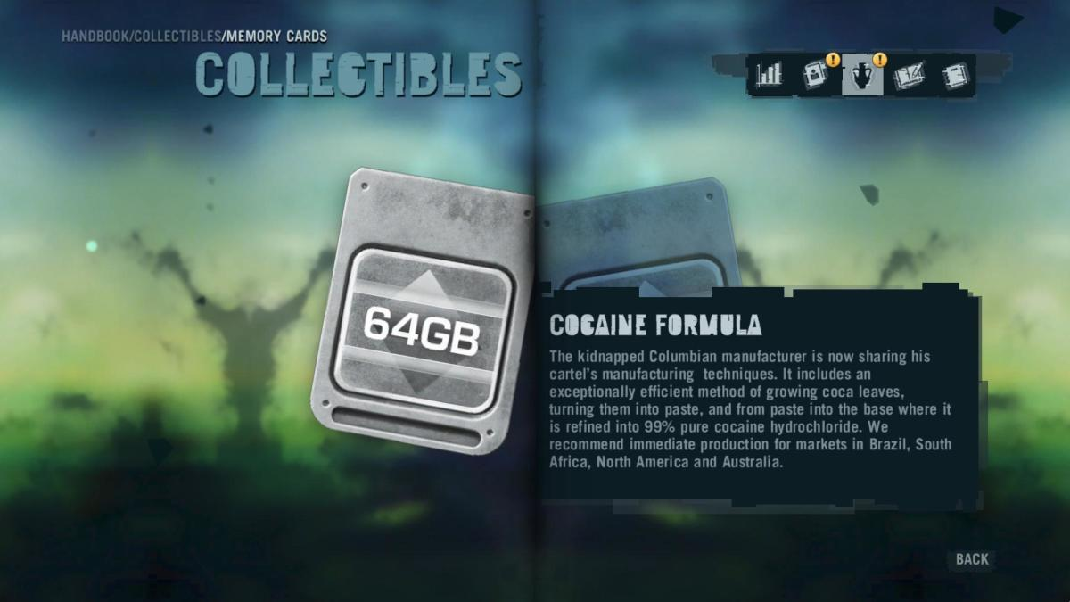 Far Cry 3 Collectibles - Memory to Spare achievement: Memory Card 3.