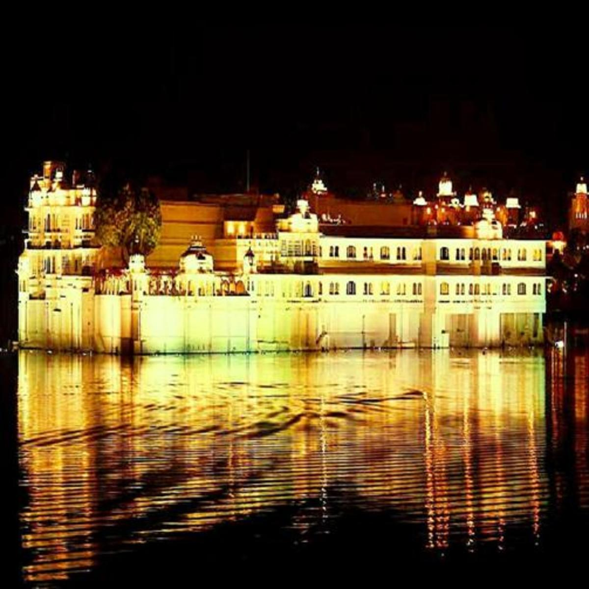 Lake Palace: A Royal Abode in the Middle of Nature