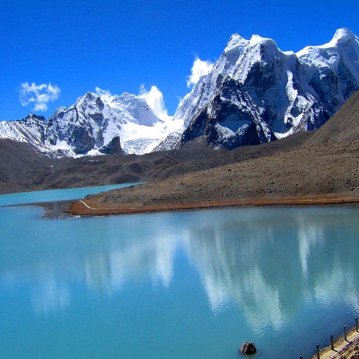 Changu Lake, Gangtok : on the foothills of Himalayas