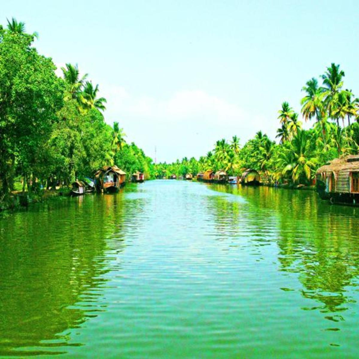 The most beautiful inland waterways around