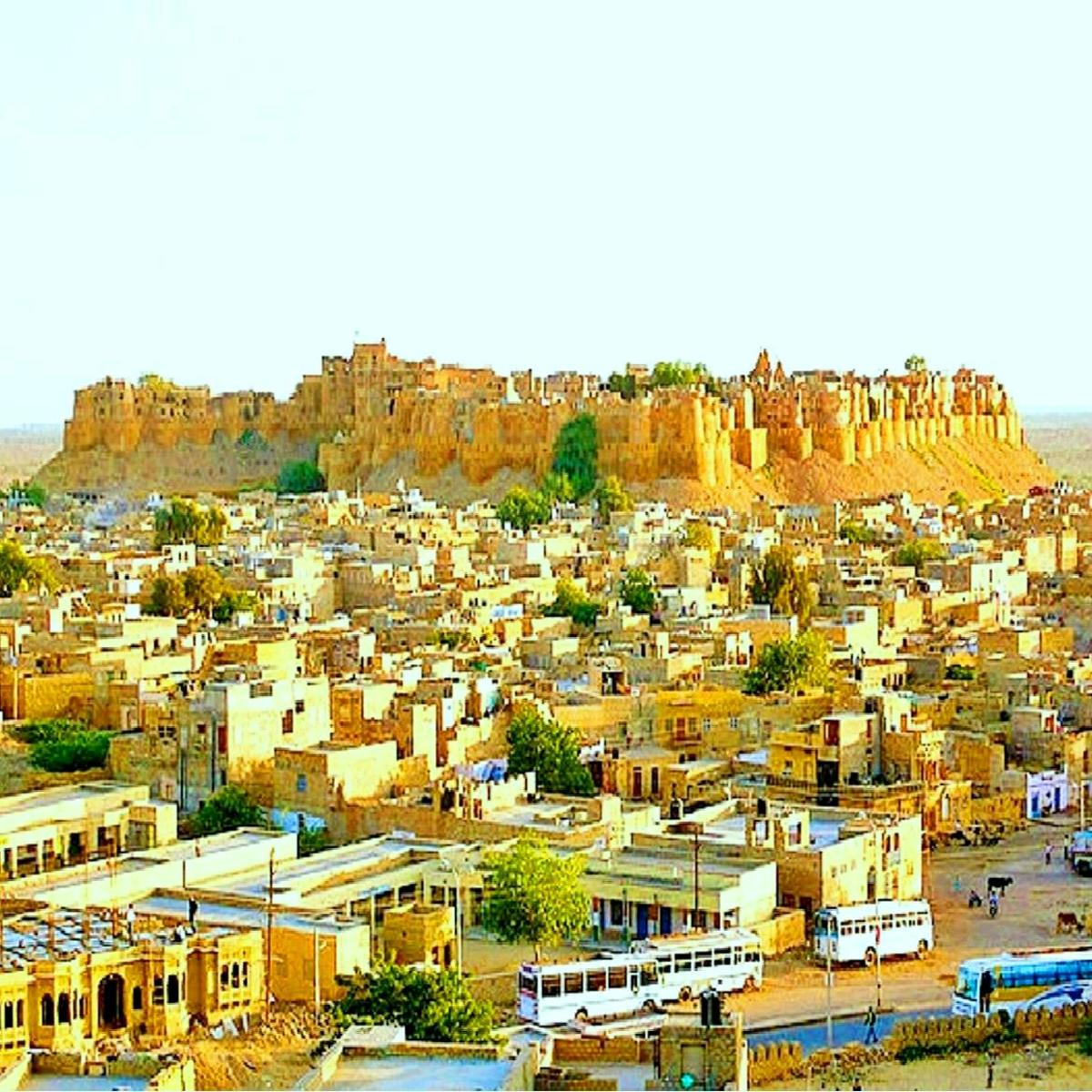 The Jaisalmer Fort: Sand & Desert