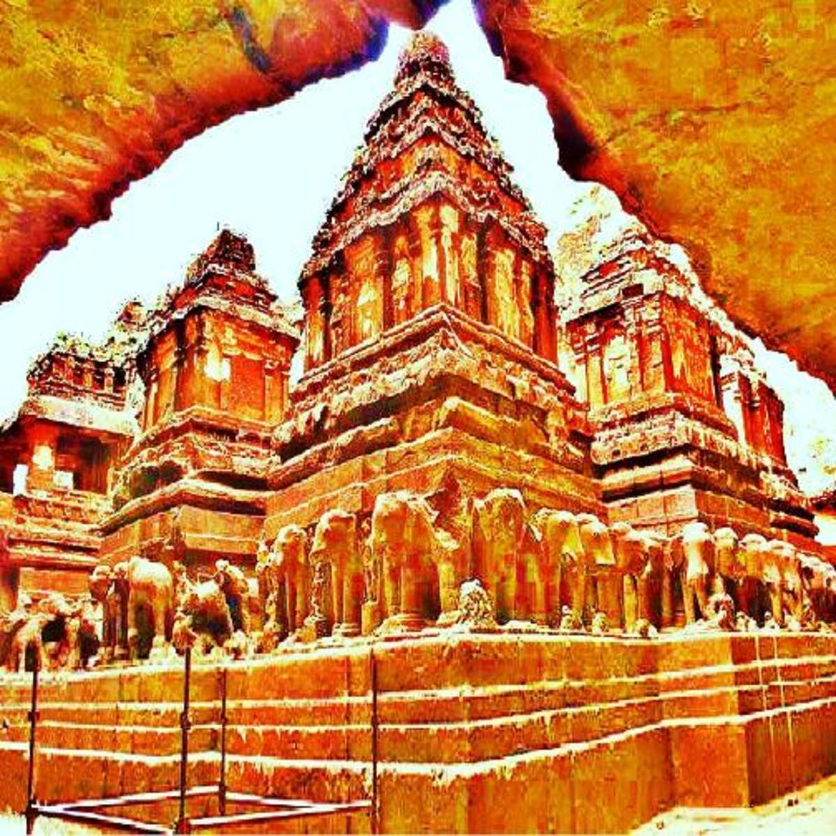Ajanta Ellora : Two Millennia old Scultures of Ancient India