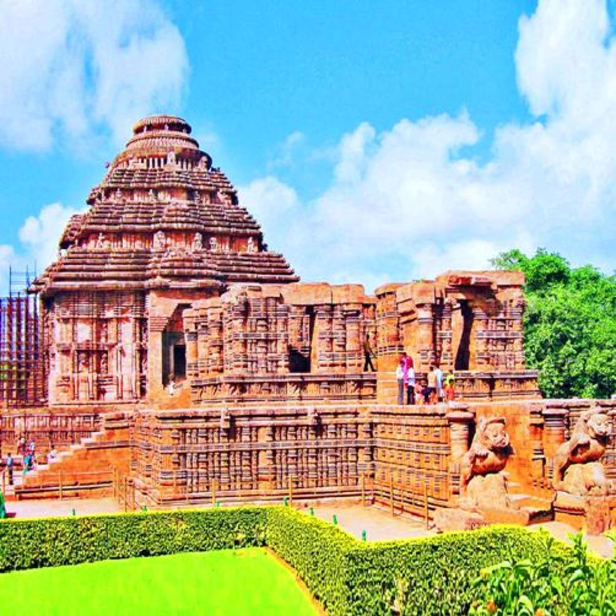 Konark Sun Temple - One of the greatest architectural marvels of ancient world