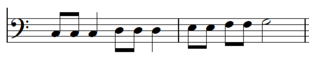 LH Scale played to the rhythm of Jingle Bells