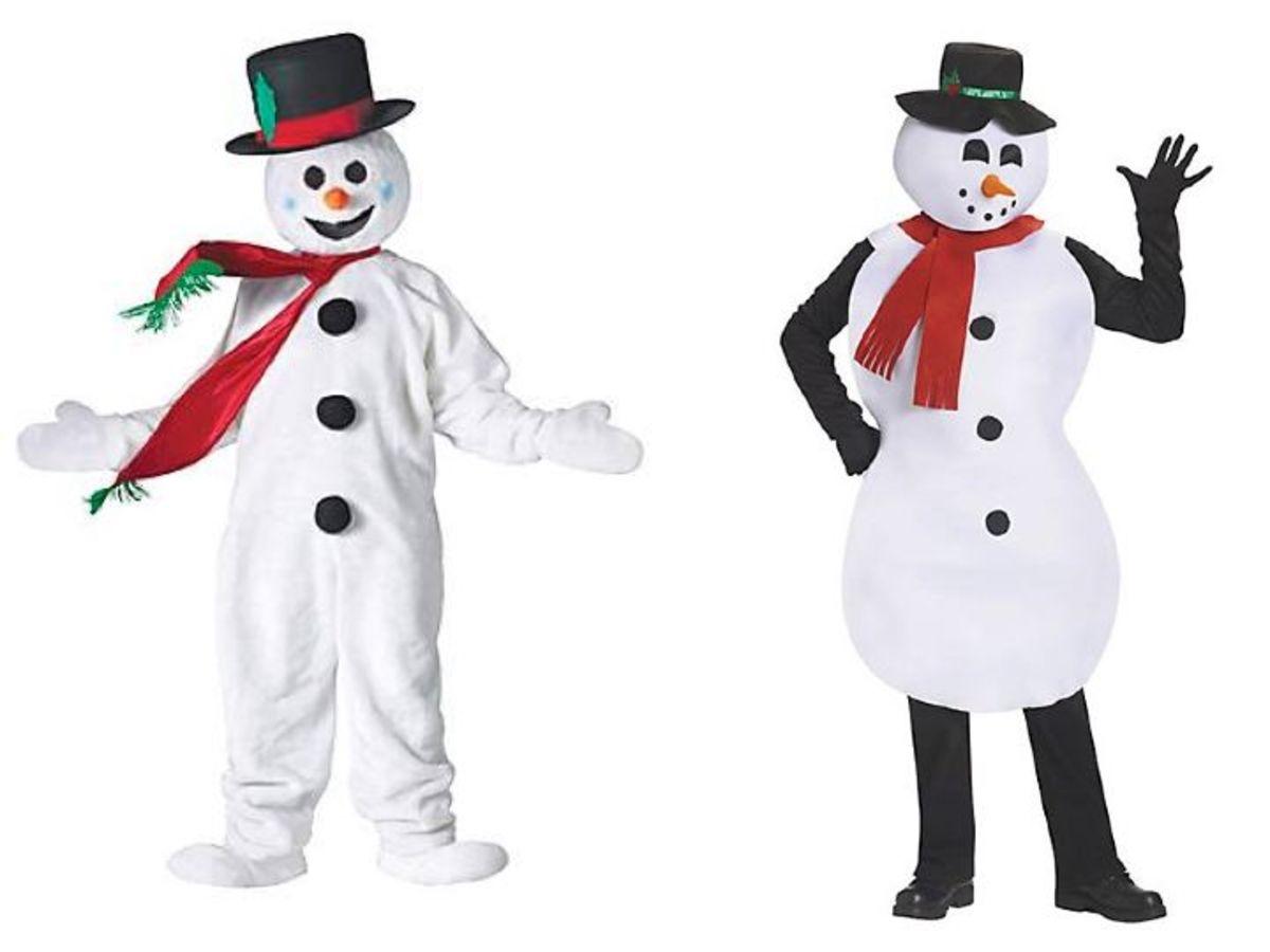 Men Snowman Costumes