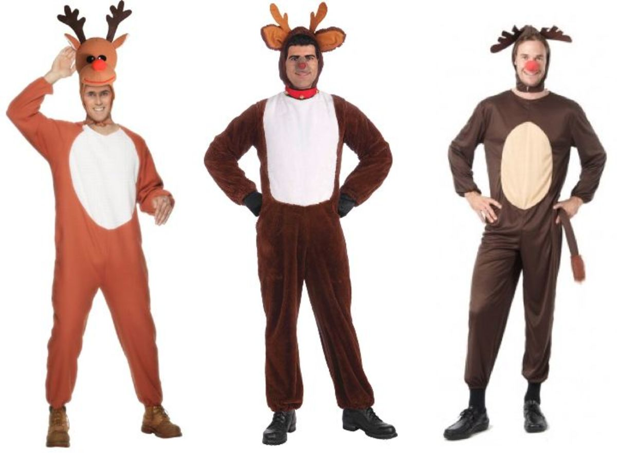 Adult Men Reindeer Costumes