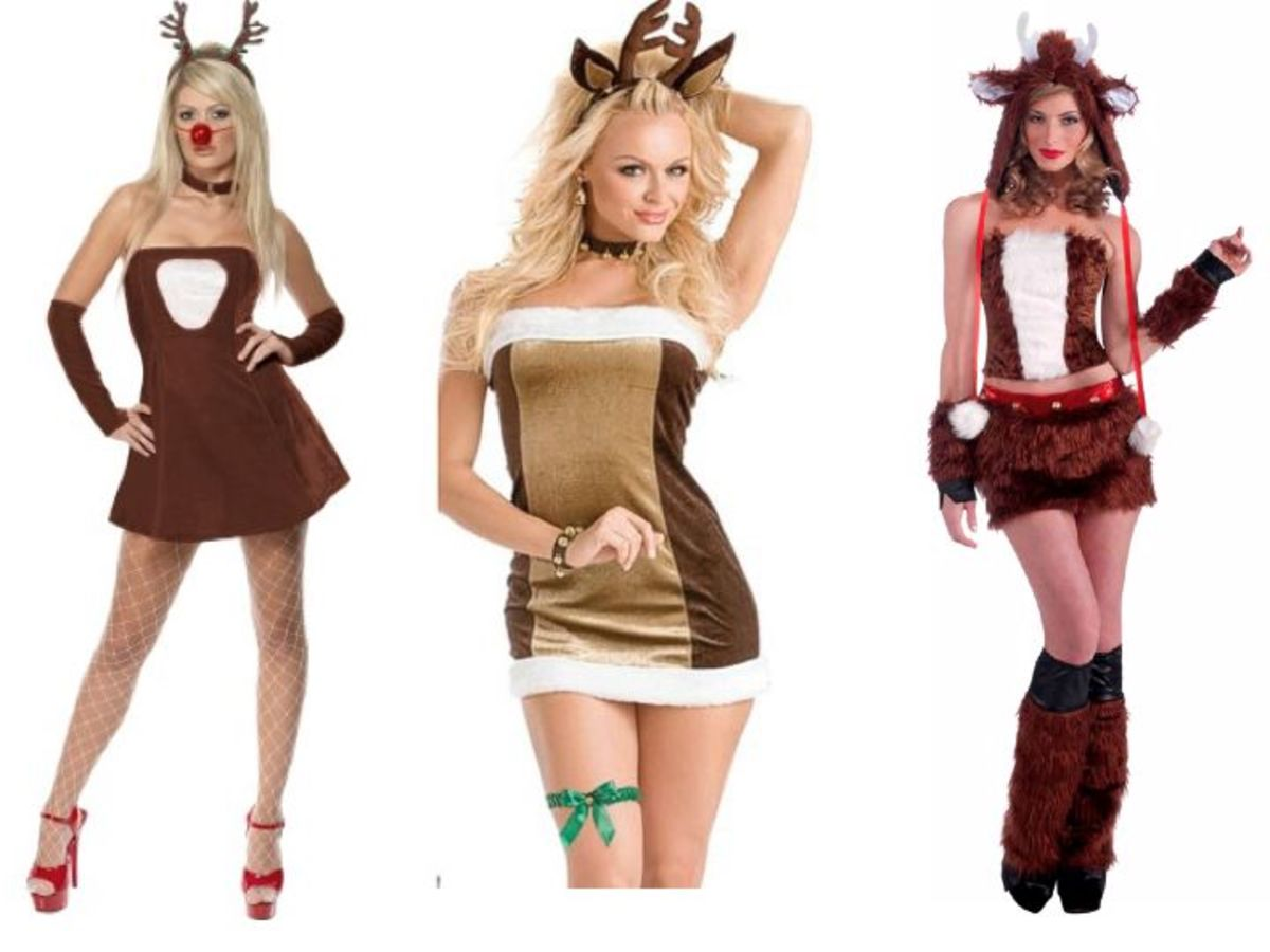 Women Reindeer Costumes