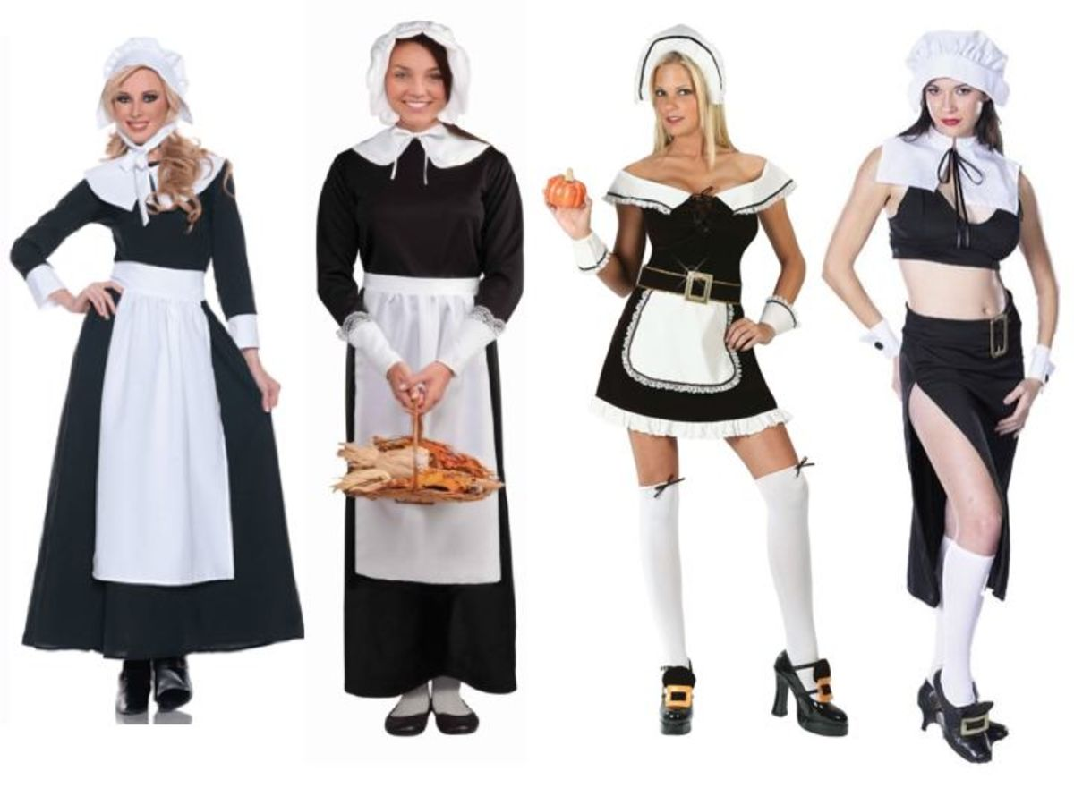Women Pilgrim Costumes