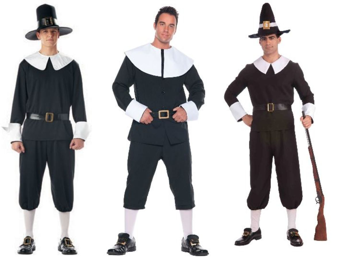 Adult Man Pilgrim Costumes