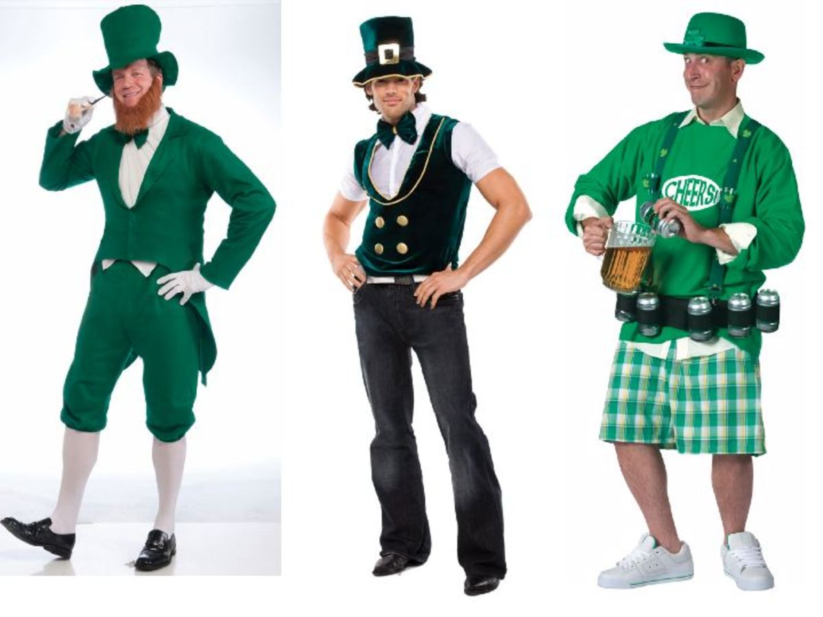 Adult Men St. Patrick's Day Costumes
