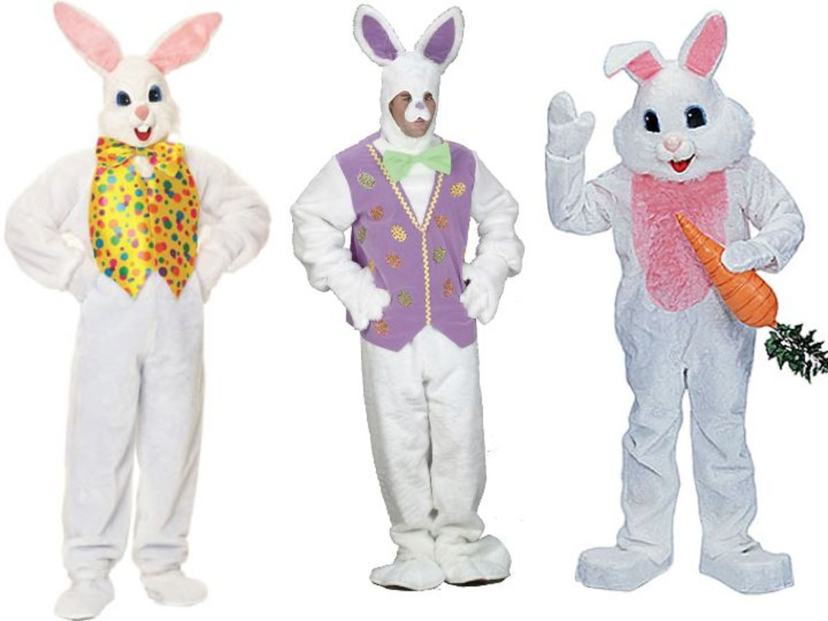 Adult Man Easter Bunny Costume