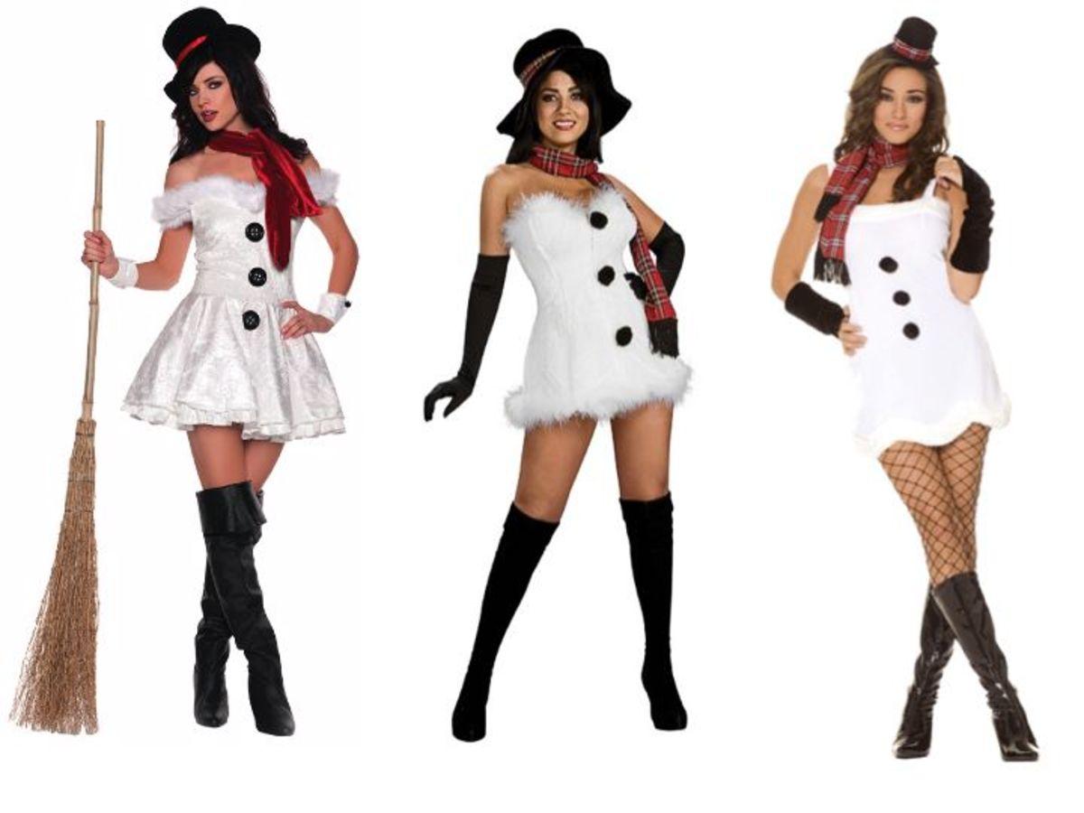 Adult Snowwoman Costumes