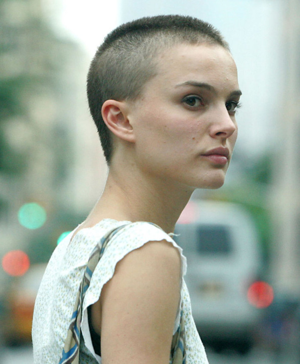 how to make a buzz cut look good