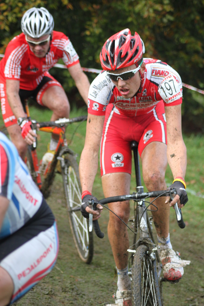 Cantilever brakes are still very popular for cyclocross racing. From Elites downwards canti's get the job done.